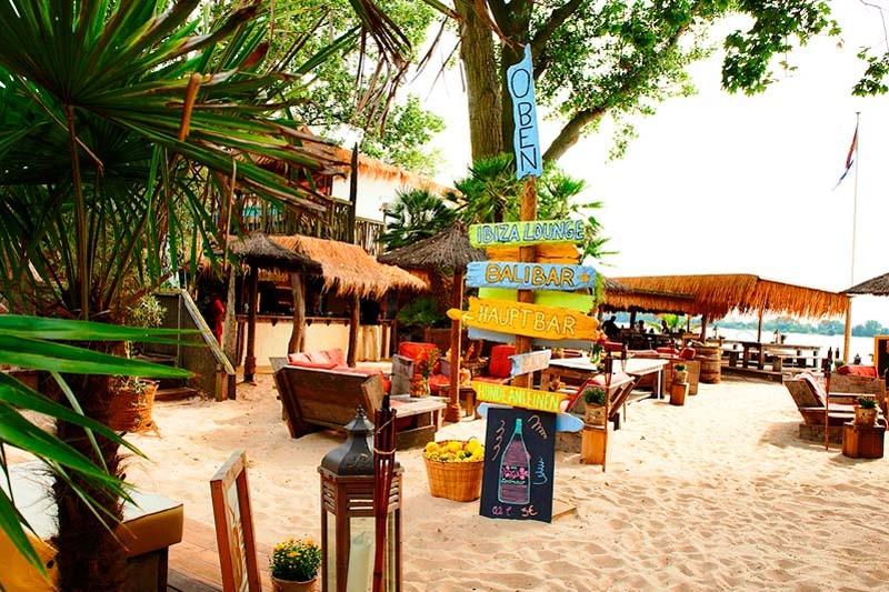 28 Grad Strandbar Wedel Sandstrand