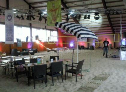 Beach Ball Club Sand