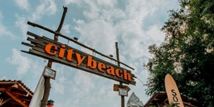 Citybeach Dresden Eingang