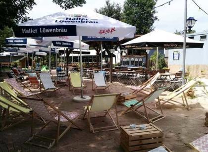 Strandcafe Gailsdorf Liegestühle