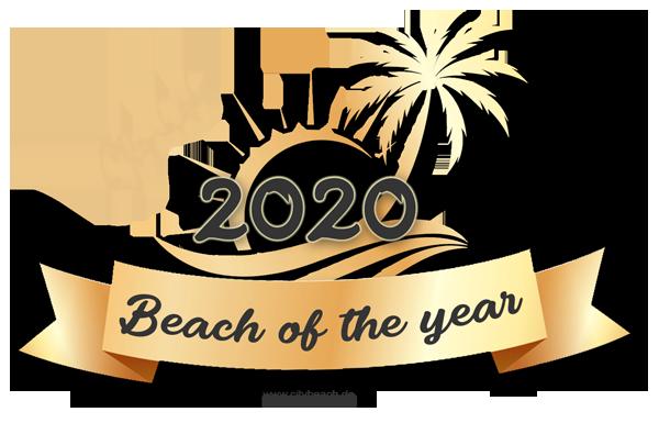 Beach of the year - Gold Award