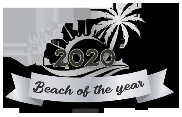 Beach of the year - Silber Award