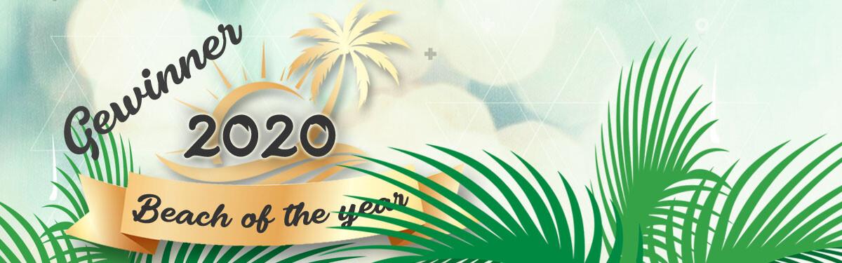 Beach of the year 2020 - Gewinner
